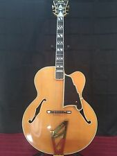 D'ANGELICO ARCHTOP HANDMADE GUITAR MODEL NEW YORKER II W/CASE