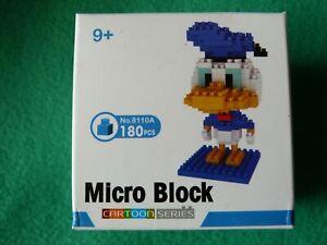 Mini blocks (mini brick style) Disney's Donald Duck BNIB