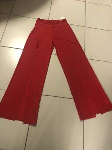 NWT Eliya The Label Khloe Red Pants L