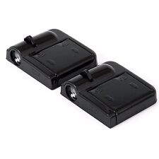 2x Wireless Ghost Shadow Projector LED Door Step Light Courtesy Harley Davidson