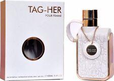Tag Her Pour femme by Armaf perfumes Eau de Parfum 3.4 oz 100 ml Spray