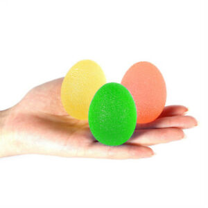 Grip Ball Silicone Egg Hand Gripper Toy Adults Stress Relief Kids New Ball Toy