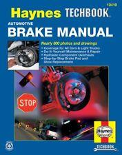 Haynes Car/Truck Brake Brakes Repair Manual Pad Rotor Caliper Drum Fluid 112X