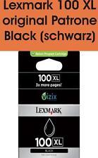 Original Lexmark Druckerpatrone 100XL Black 14N1068E
