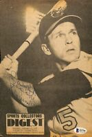 Brooks Robinson Signed Baltimore Orioles Sports Collectors Digest Cover BAS