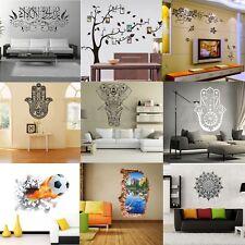 3D Adhésif Sticker Autocollant Fleur Arbre Lettre Mur Mural Décor Muraux Chambre