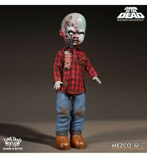 Mezco Living dead dolls Dawn Of the dead Plaid Shirt Zombie
