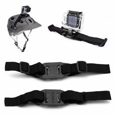 Universal Vented Strap Helmet Mount Adapter For Sport Camera Gopro HD Hero 1 2 3