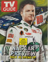 TV Guide February 2008 - Dale Earnhardt Jr. - Nascar Special Issue - No Label