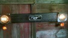 1966 Mustang wall display bar restaurant Decor man cave real part art car grill