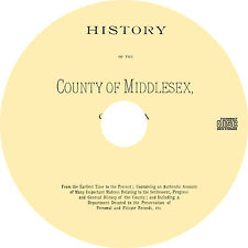 Middlesex County, Ontario (1889) ON History Genealogy Biography - Book on CD
