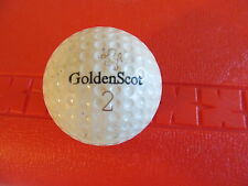 GOLDENSCOT WORTHINGTON GOLF BALL VINTAGE 50'S/60'S USED