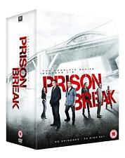 """PRISON BREAK COMPLETE SERIES COLLECTION 1-5 DVD BOX SET 25 DISC R4 """"NEW&SEALED"""""""