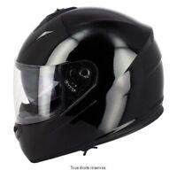 Casque Moto / Scooter Intégral S-Line 440 double visière noir taille M