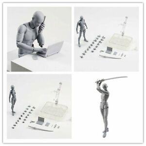Drawing Figures For Artists Action Figure Model Human Mannequin Man Woman Kit AU