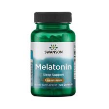 Swanson Melaton 3mg 120/240/360 Kapseln  Besserer Schlaf Express Versand