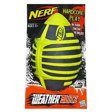 Brand New NERF Sports WEATHER BLITZ FOOTBALL All Conditions Ball