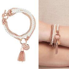 Mimco ������ Silver Charisma Charm Wrist Bracelet Cuff + Dust Ba