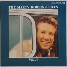 MARTY ROBBINS: Files Vol 3 CBS Bear Family IMPORT Country VINYL LP