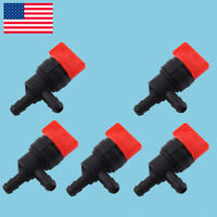"""1//4/"""" Straight In-Line Fuel Gas Shut Cut Off Valve Petcock Motorcycle Cut Tackle"""