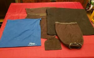 Lot 5 Vintage SILVER CLOTH Anti-Tarnish Storage BAG 1 by Hagerty Others Handmade