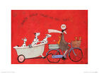 Sam Toft Don't Dilly Dally on the Way Art Print 12 x 16 Inches Official