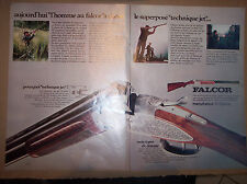 FALCOR - FUSIL MANUFRANCE / 1972 PUBLICITE PRESSE COUPURE PUBLICITAIRE MAGAZINE