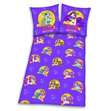 Filly Fairy purple / yellow Warm Winter Bed cover 135/200cm Flannel WARE Horse