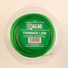ALM 2mm x 126M Green Trimmer Strimmer Line Wire Cord Lightweight Petrol SL007