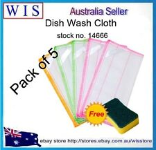 PK of 5 Cotton Rag To Dust Cleaning Cloth Clean Rags Magic Towel Kitchen Towels