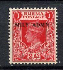 Burma 1945 SG#41, 2a KGVI Optd Mily Admn MNH #C86