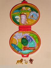 Polly pocket: Disney roi Lion Lion King relief-boîte avec 2 personnages