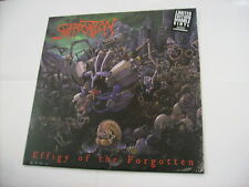 SUFFOCATION - EFFIGY OF THE FORGOTTEN - LP REISSUE MARBLE VINYL NEW SEALED 2018