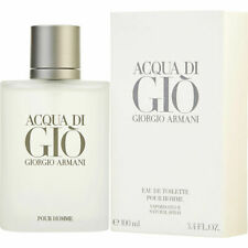 ACQUA DI GIO by GIORGIO ARMANI EDT 3.4 oz *NEW IN TSTR BOX* unisex PERFUME men