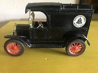 AT & T 1913 Ford Model T Delivery Van Ertl Coin Bank Made Hong Kong