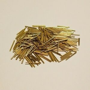 100 konische Stifte Messing, Sortiment, Vorsteckstifte