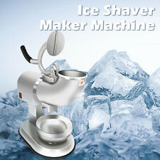 Ice Snow Cone 300w Rushed Maker Machine Ice Breaker Commercial Summer Use 110v