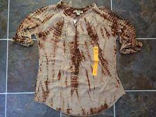 NWT Vintage America Blues Liliana Women's Tye-dye Shirt Top Sz S, M, L, XL, XXL