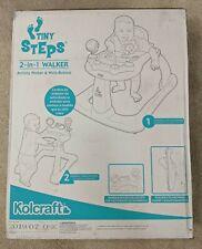 Kolcraft Tiny Steps 2-in-1 Activity Walker