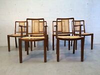 6 dining chairs designed by edward wormley for dunbar mid century modern