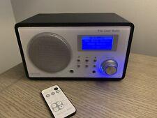 Livio LV001 Pandora Internet Streaming WiFi Radio W/ Power Cord & Remote - Works