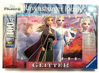 Ravensburger Disney Frozen II GLITTER Sisters XXL 100 Piece Jigsaw Puzzle SEALED