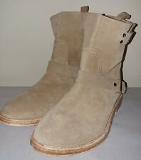 JOIE Hoxton Cement Suede NEW Leather Ankle Bootie Boots Women's Size 5M ~EU35