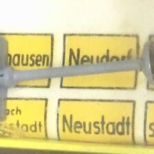 BRAWA 574 H0 Verkehrs Zeichen Schild beleuchtet, Faller AMS, EHEIM Trolleybus #2
