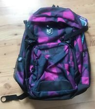 BackPack Pink/Black Plaid (New With Tags) Jworld 15� Laptop BookBag Rucksack