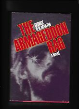 THE ARMAGEDDON RAG---GEORGE R. R. MARTIN---hc/dj---1st1st1983---POSEIDON PRESS