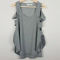 [ X By GOTTEX ] Womens open sides workout Tank Top  | Size S or AU 10 / US 6