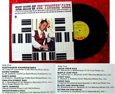 LP Joe Fingers Carr the Hits of Joe Fingers Carr