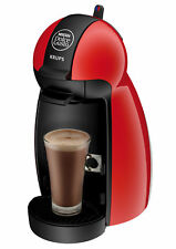 Coffee Machine Dolce Gusto Pod Piccolo Krups KP100640 Red Nescafe Beverage maker