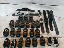 Lot of 30 assorted ski boot buckles straps skiing